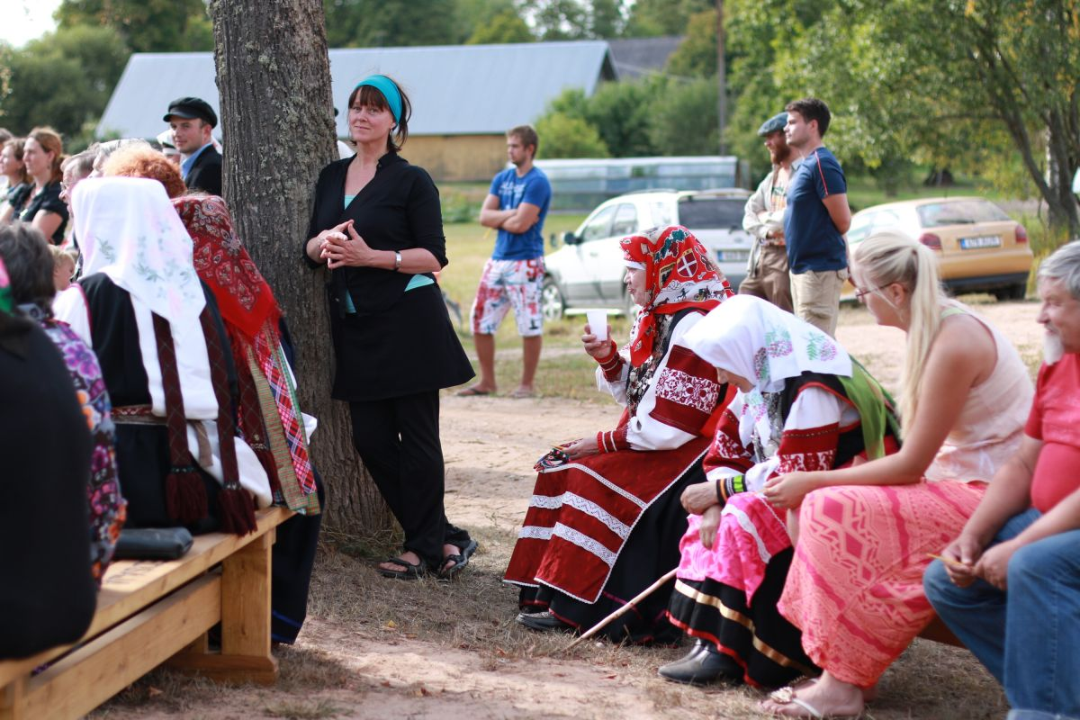 Traditionella sångare