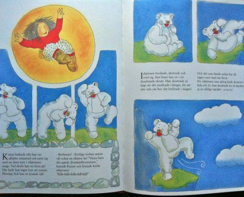 Barnbok, isbjörn som skrattar