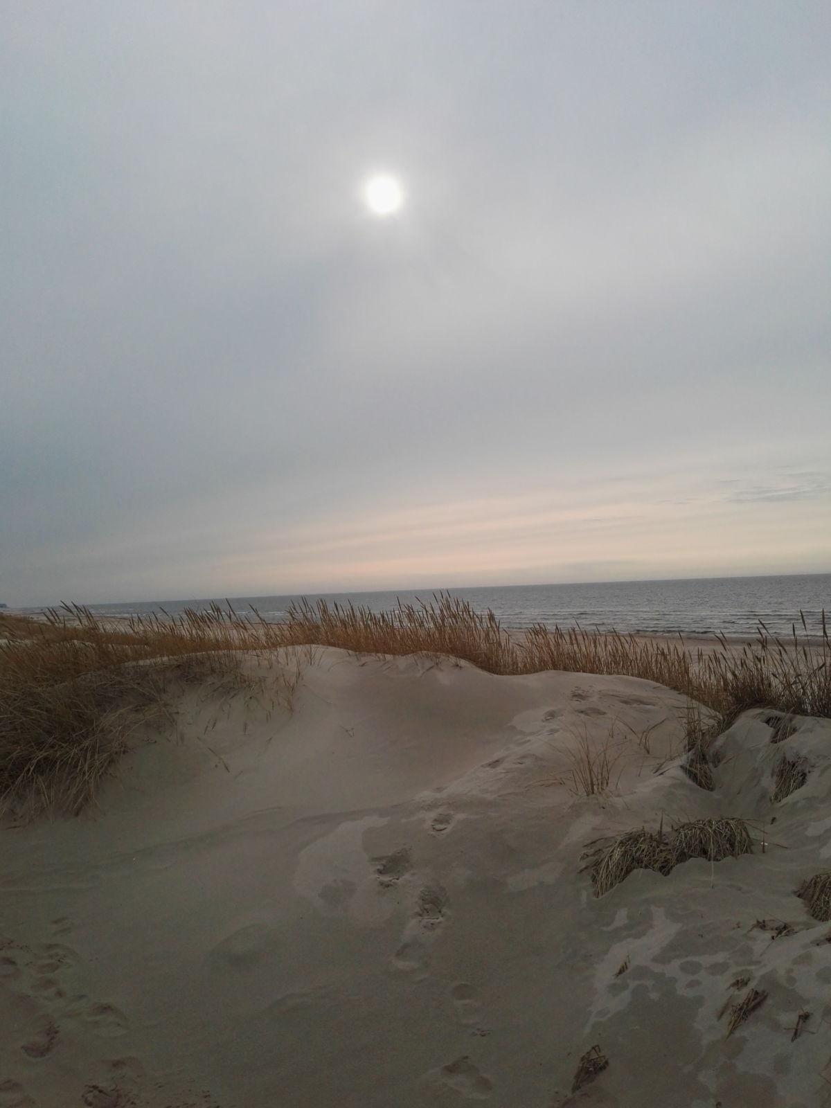 sjungande sand i Lettland