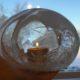 Göra gravljus med isballong