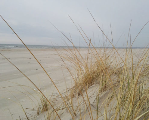 Sjungande sand Lettland