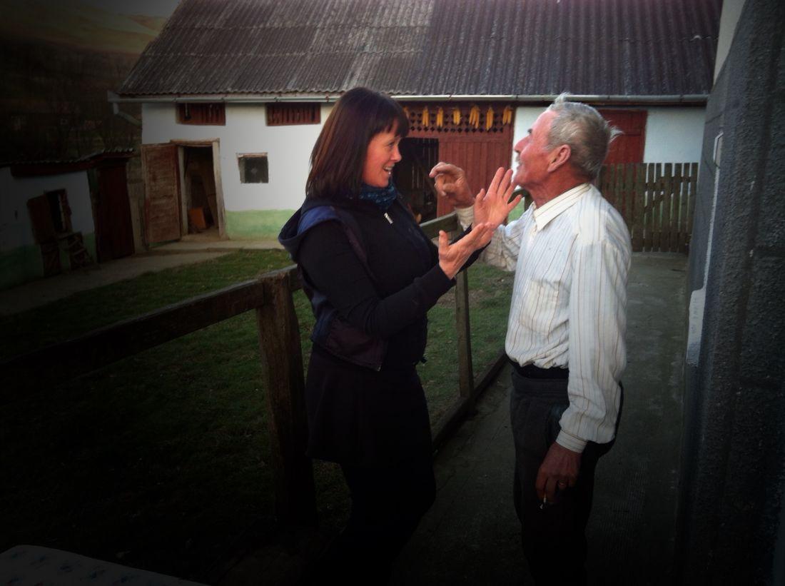 Sjunga med farbröder i Rumänien