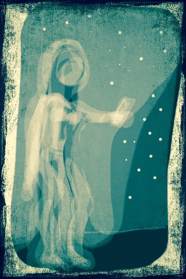 tecknat Universum av Malin Skinnar