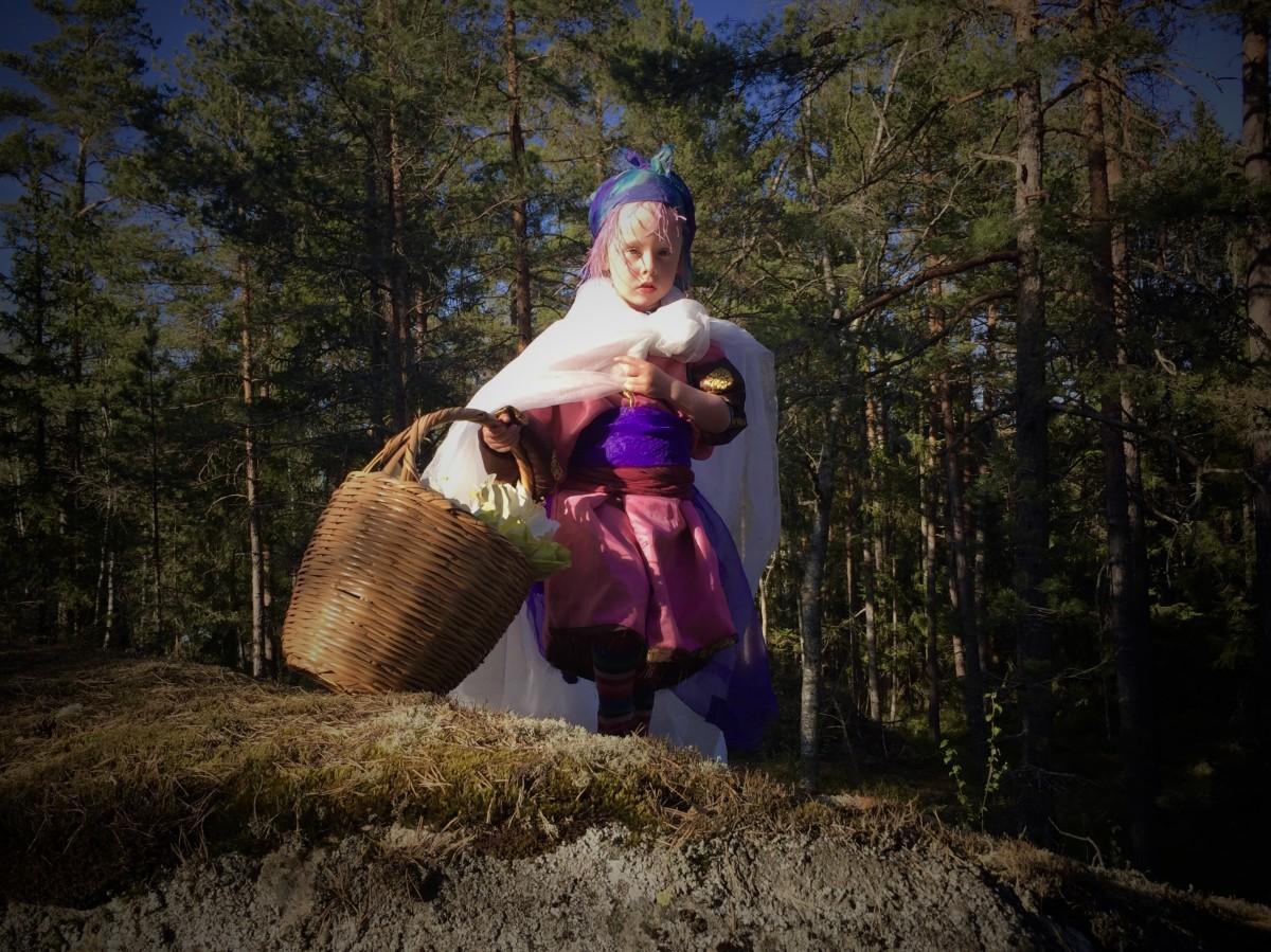Sagoinspelning i Tyresta Nationalpark.