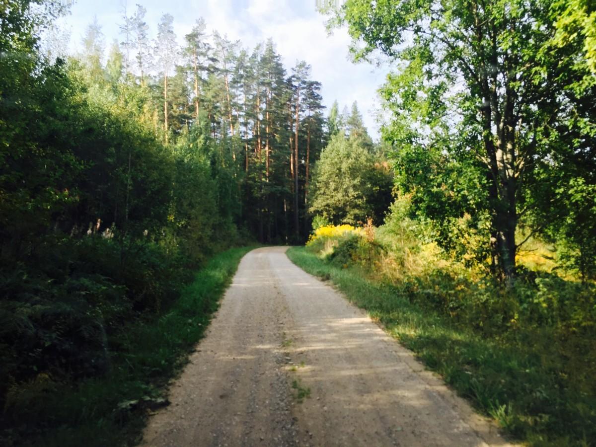 Grusvägarna är långa i Setomaa.