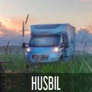 HUSBIL MED KULTURHUS OMBORD
