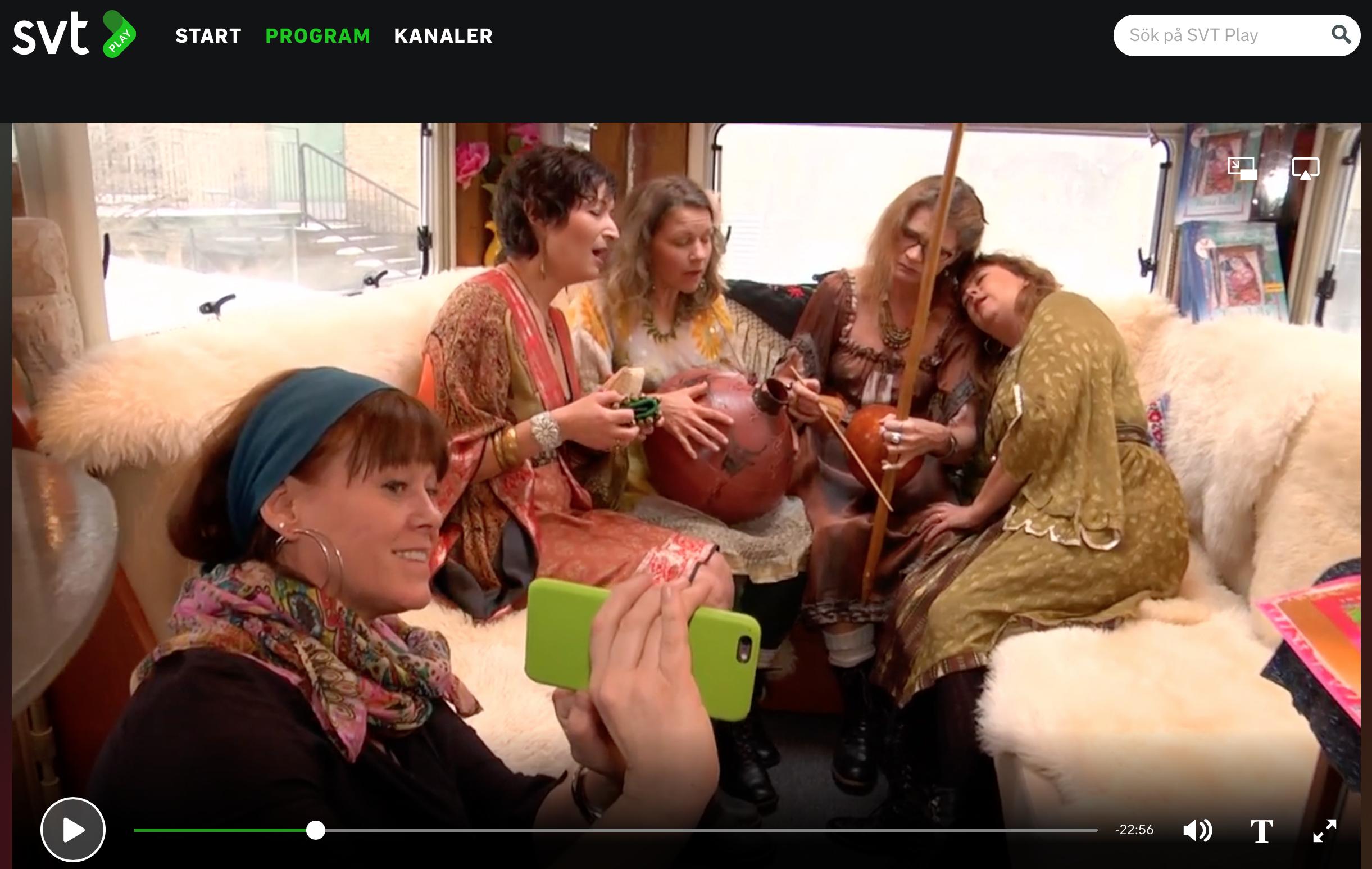 Foto från SVT Sverige om Malin Skinnar