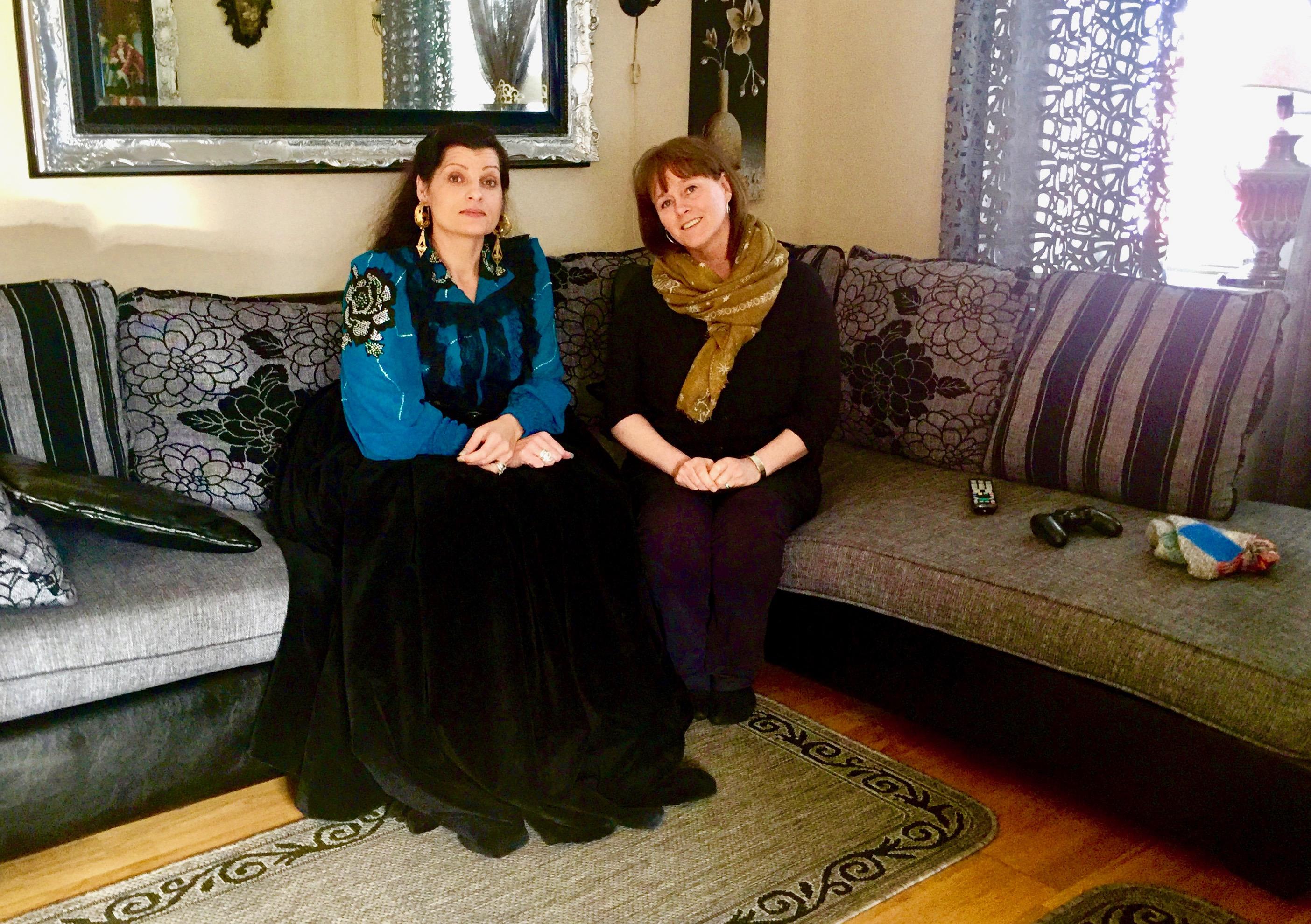 Jag blev hembjuden för att tala om dräktbruk hos finska romer