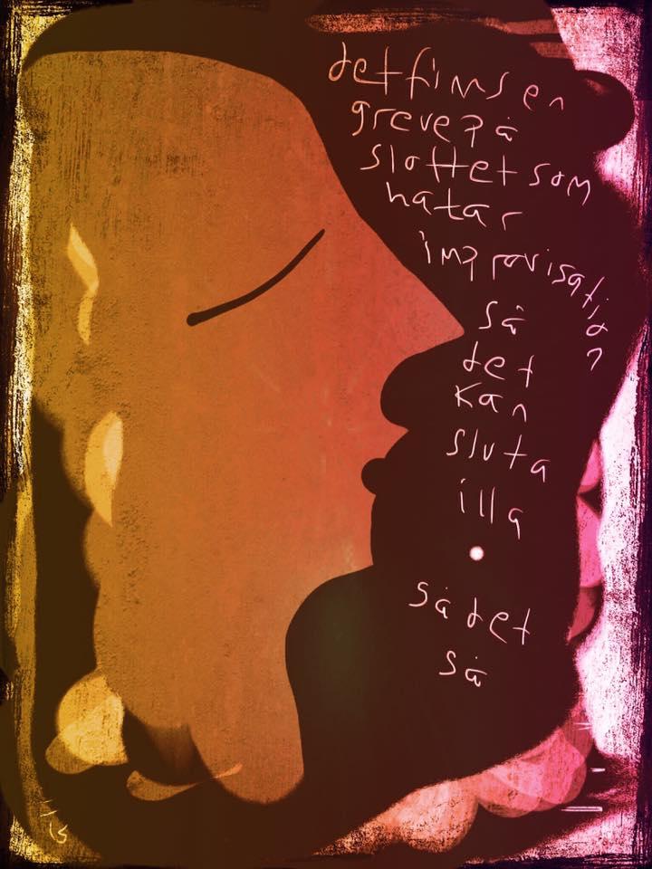Malin Skinnars illustration av pedagogisk sångövning