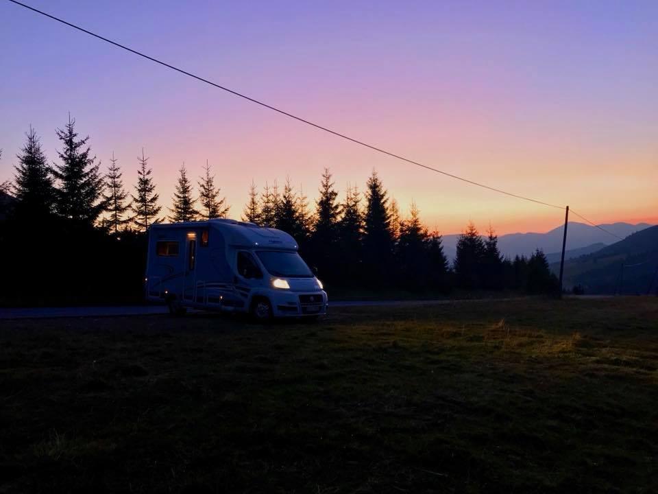 Husbilsresa genom östra Europa