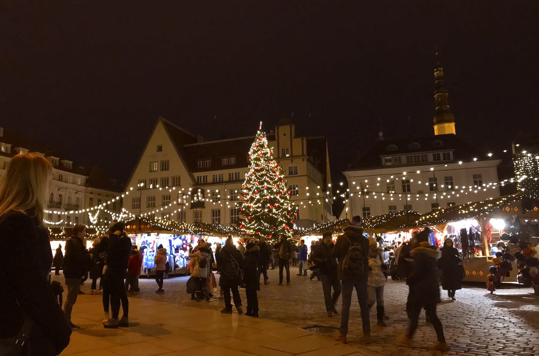 Julmarknad Tallinn, foto Malin Skinnar