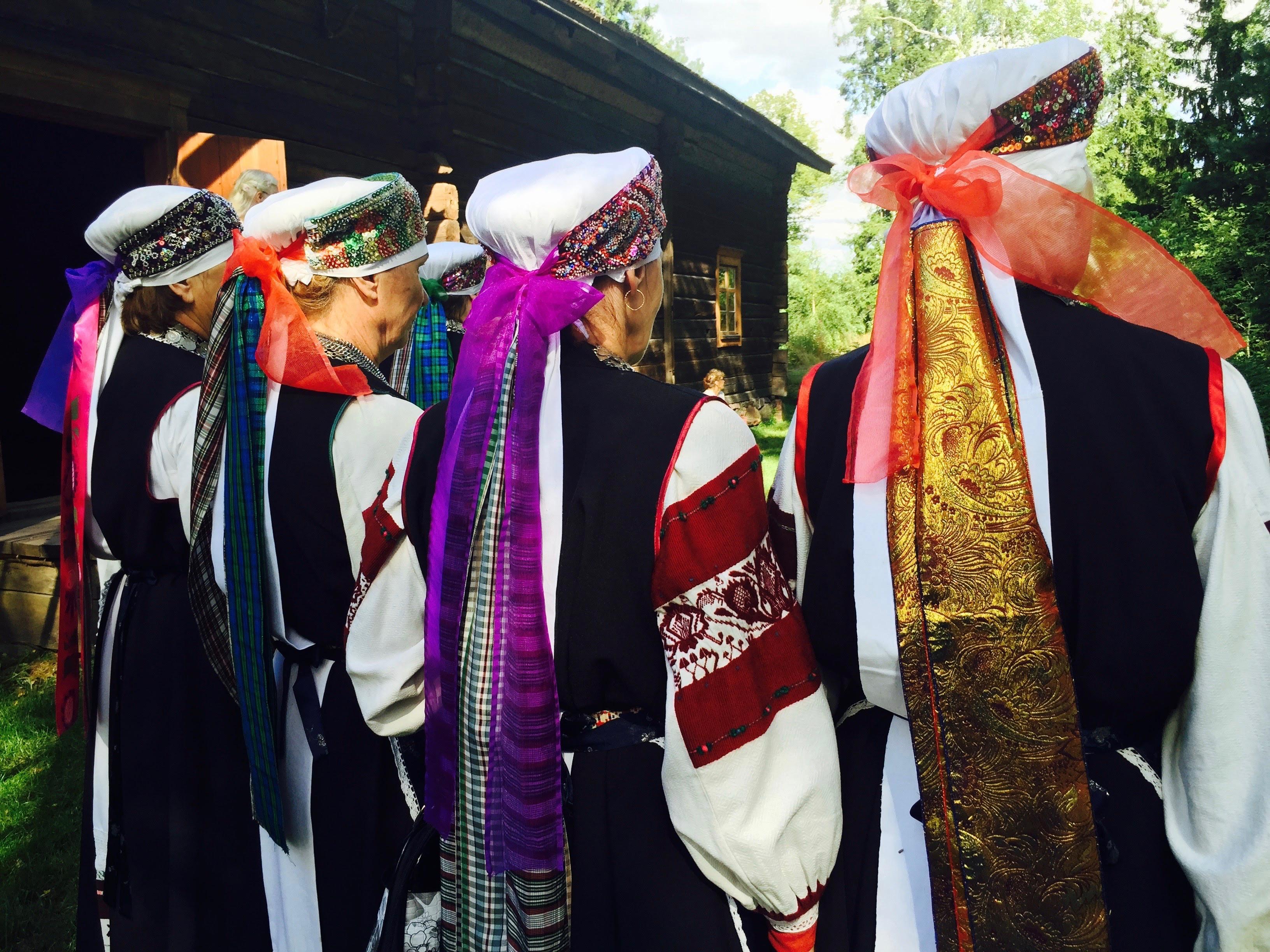 Seto Leelo folk costume, Estonia photo Malin Skinnar