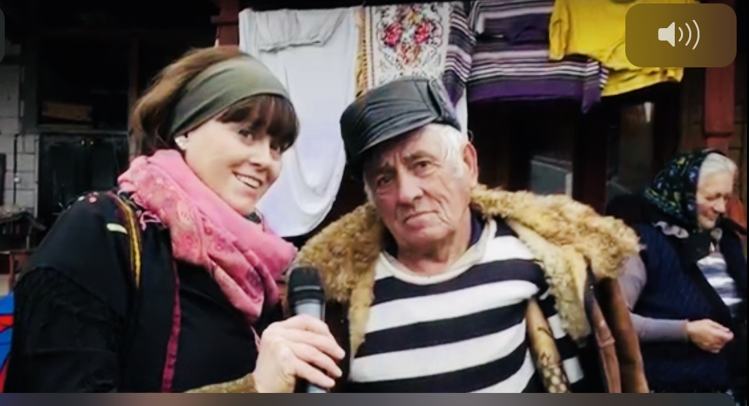 Documentary with Malin Skinnar in Maramures
