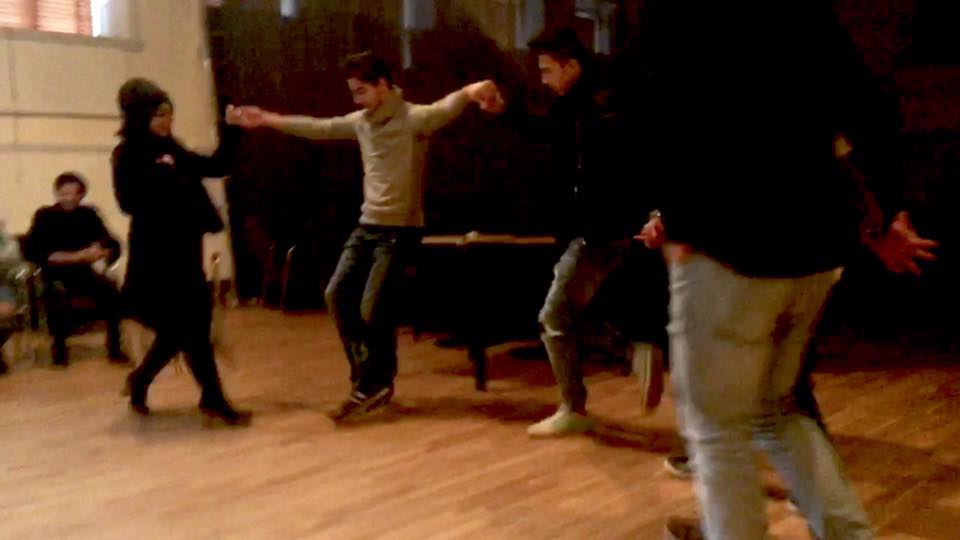 Mohamad Kheir Alaliwis teatergrupp i Helsingborg