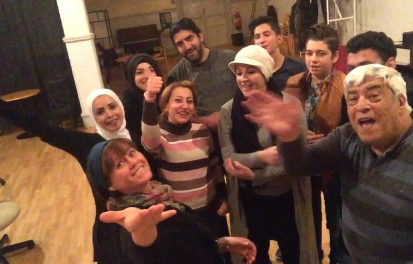 Mohamad Kheir Alaliwis svensk-syriska teatergrupp Freden i Helsingborg