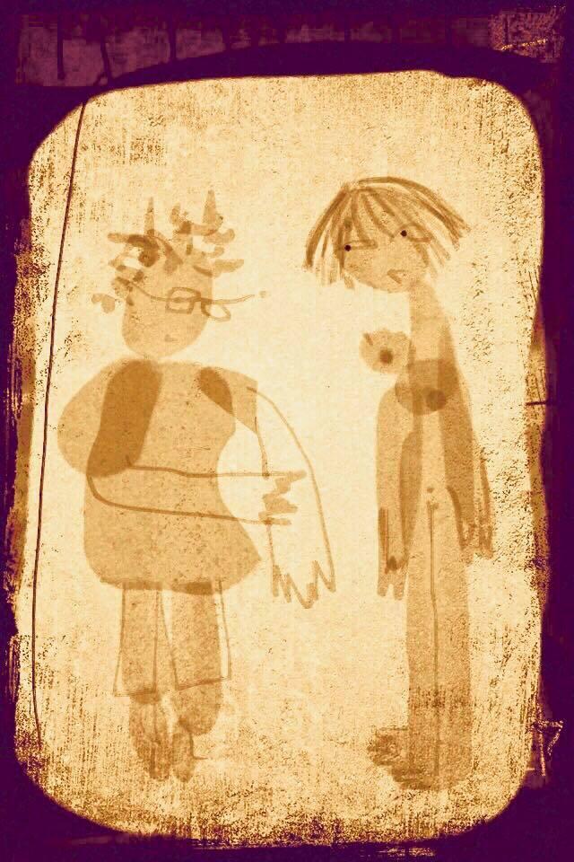 Illustration Malin Skinnar - Massören