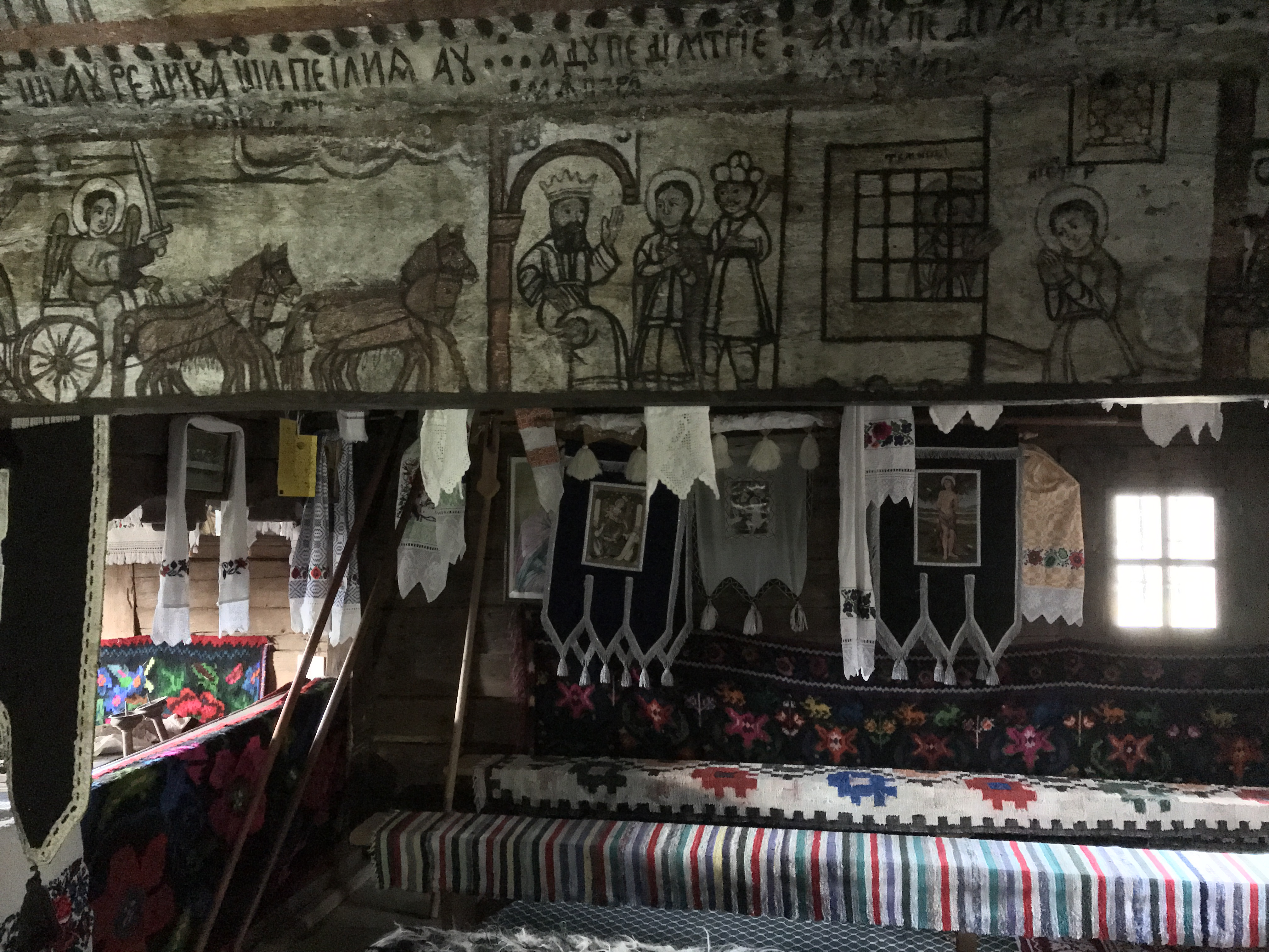 Calinesti wooden church, Romania