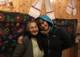 Mariuca Verdes Mother and Malin Skinnar , Calinesti, Romania