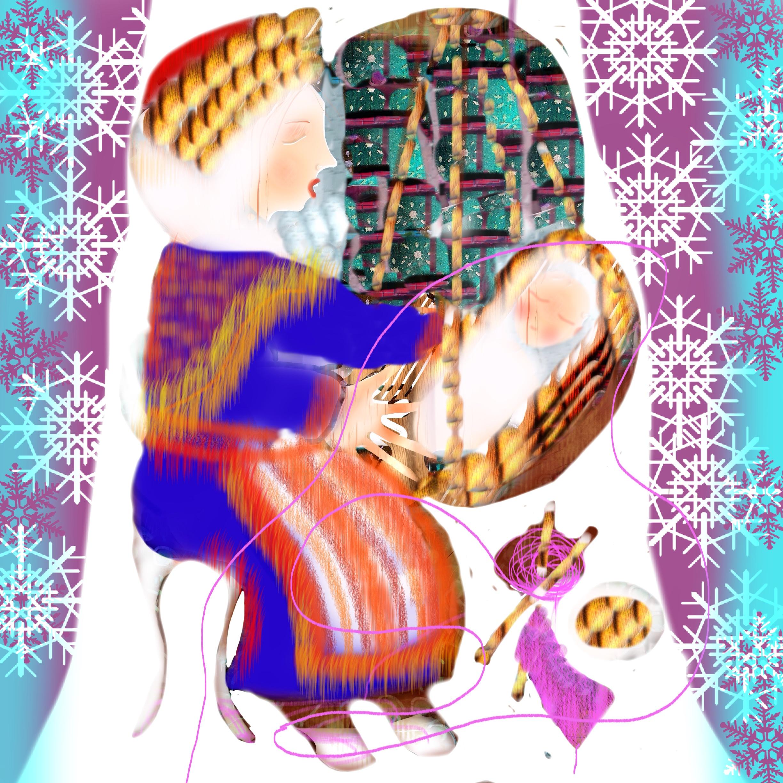 Lullabie from Sweden, illustration Malin Skinnar