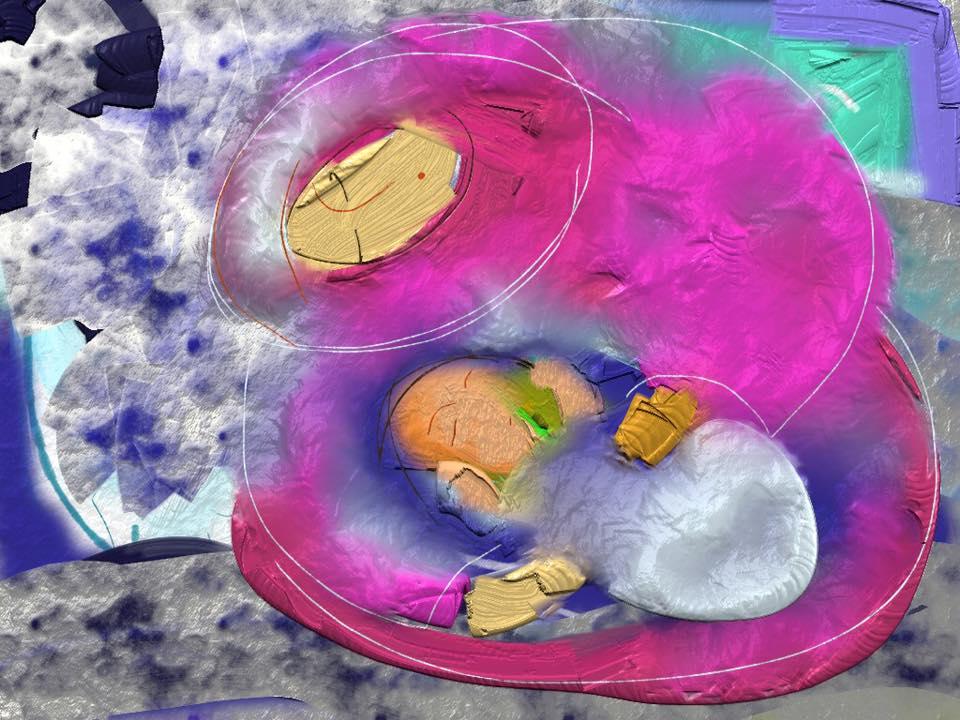 Yamo, syrian song, illustration Malin Skinnar, Sweden