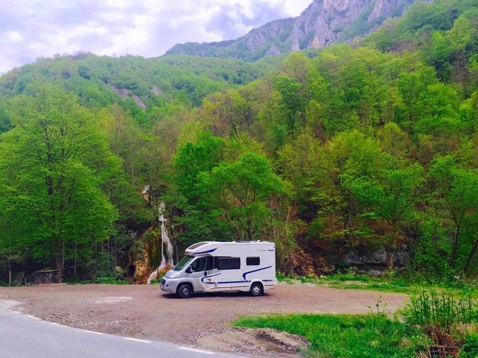 Mobile home in Transylvania