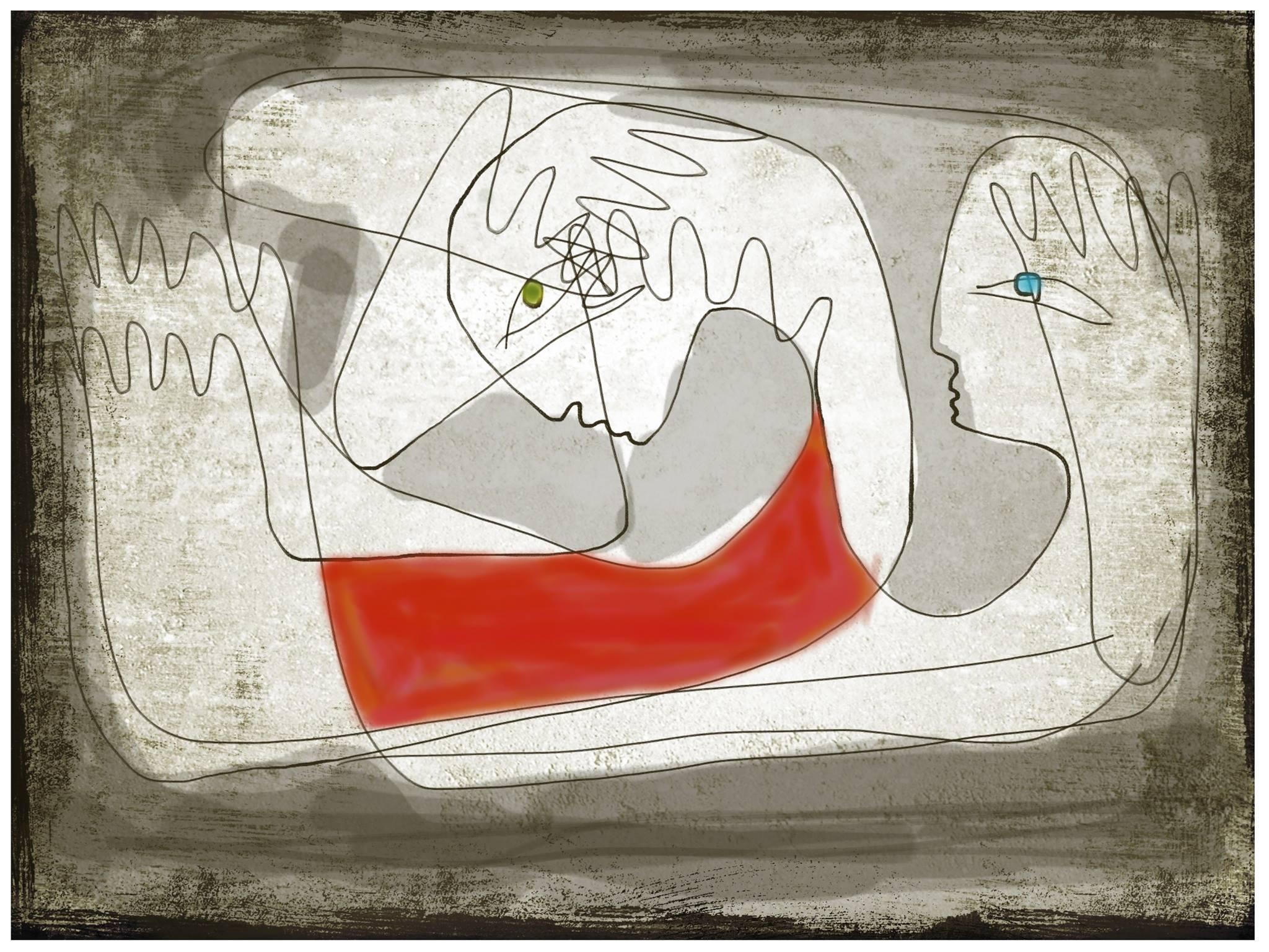 Sleepless, illustration Malin Skinnar