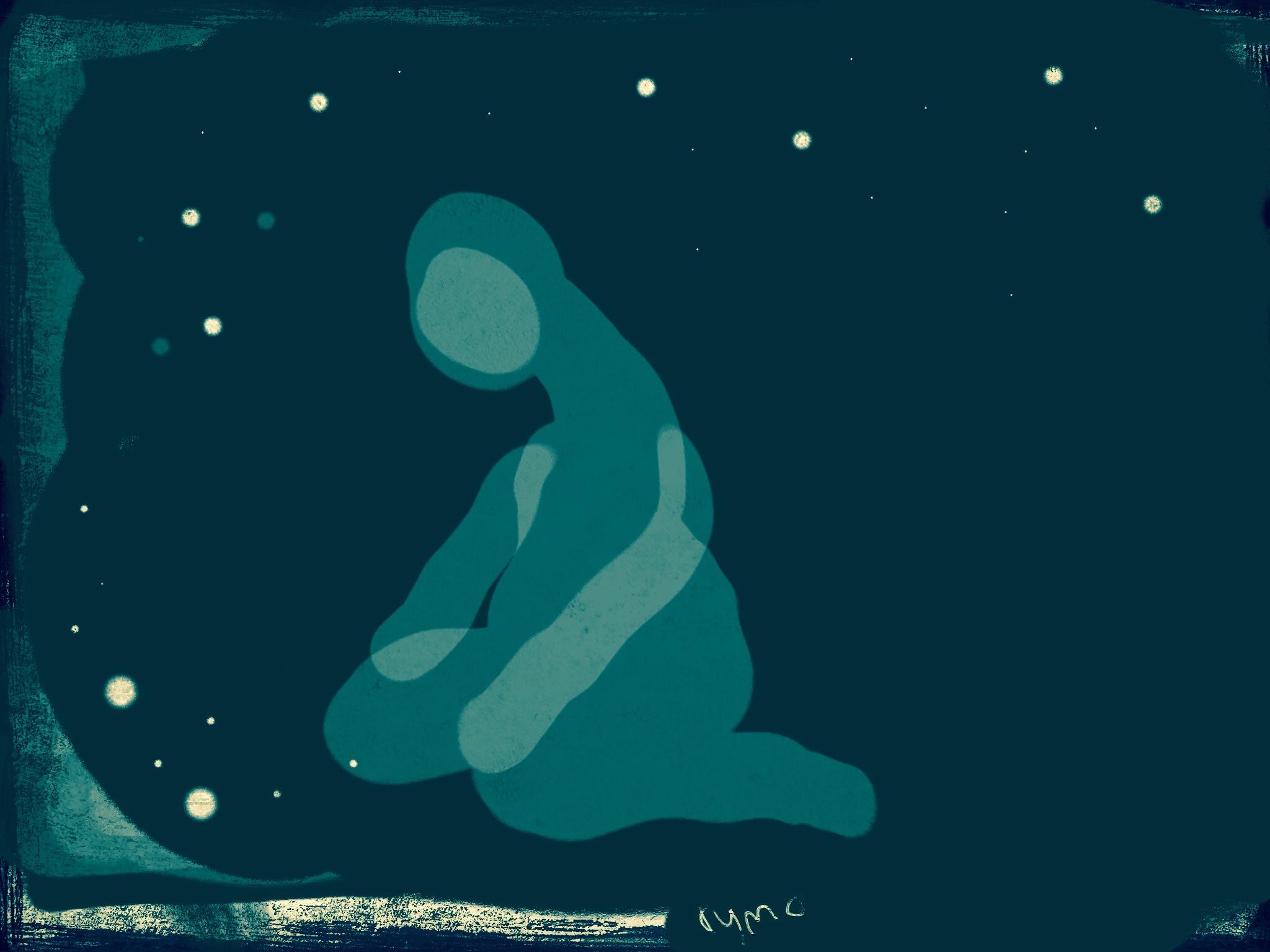 Insomnia, illustration Malin Skinnar