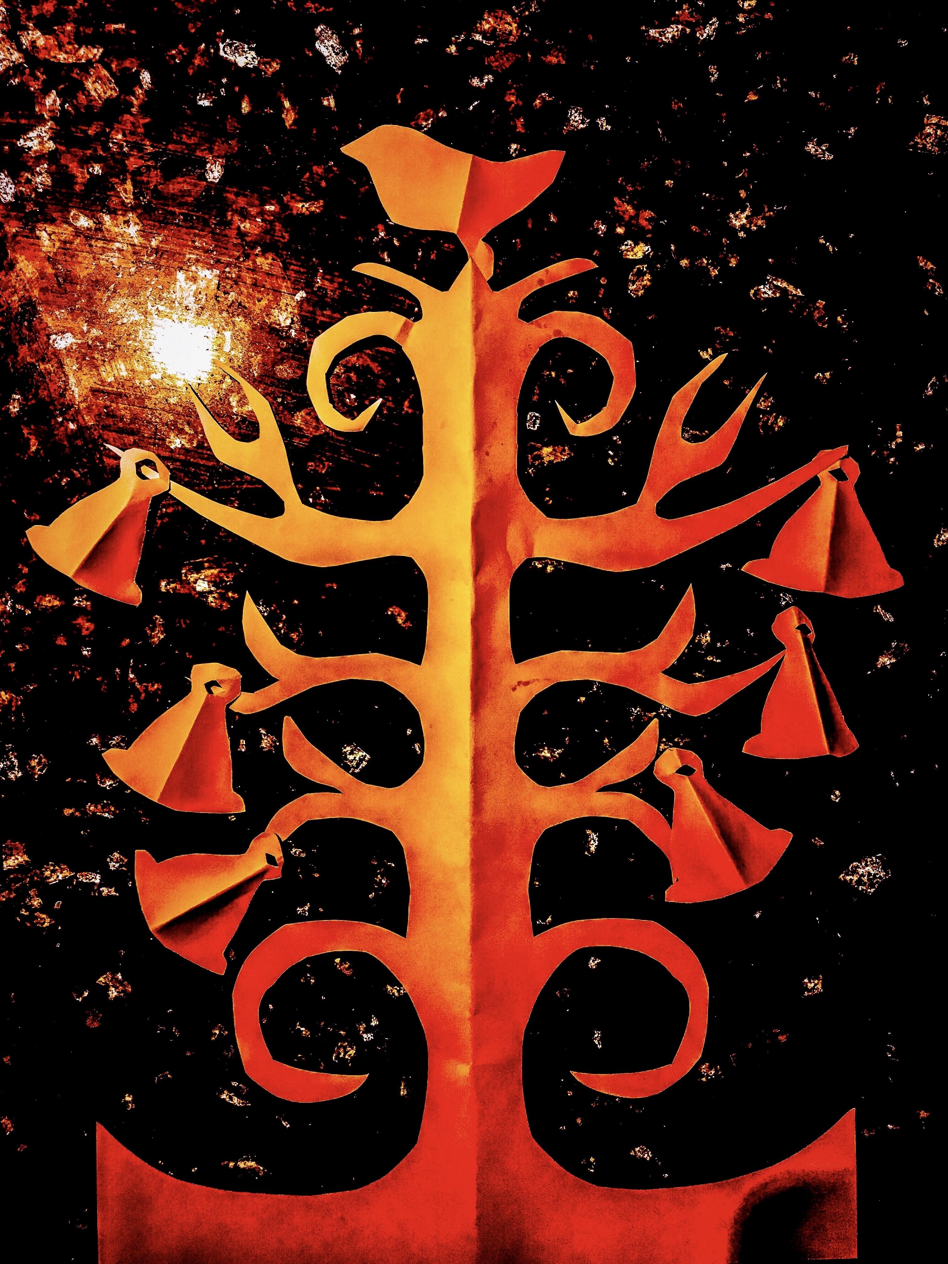 Papercut art Malin Skinnar