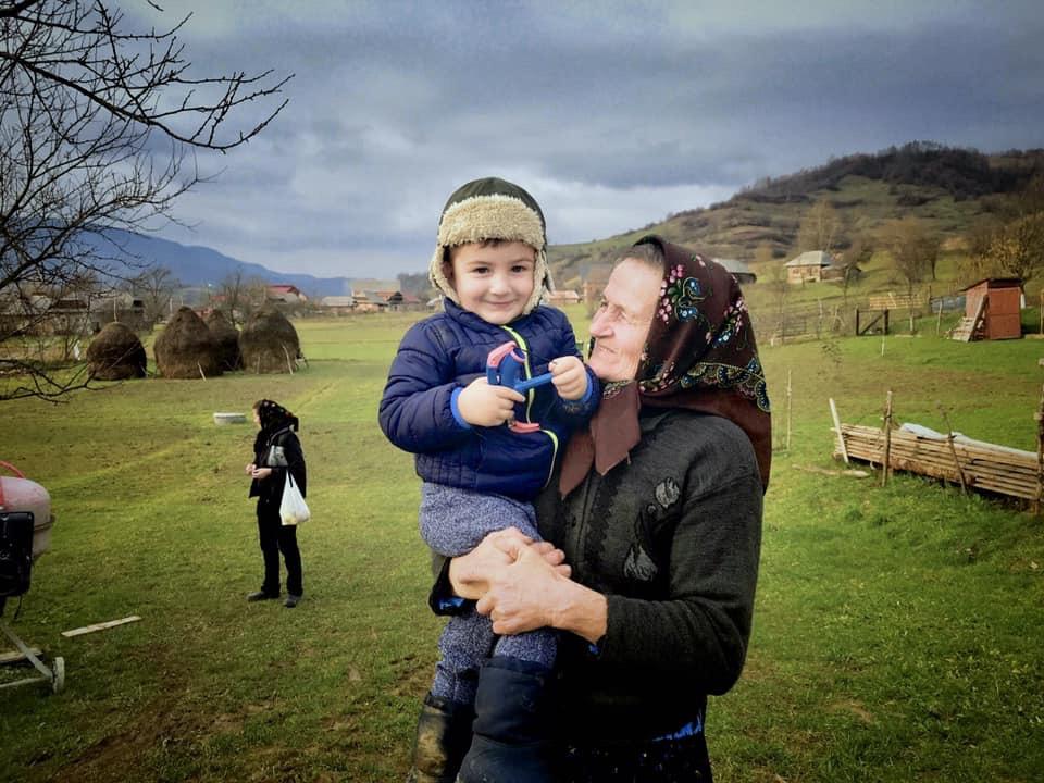 Gospodina Zamfira Filip in Cupseni, Romania