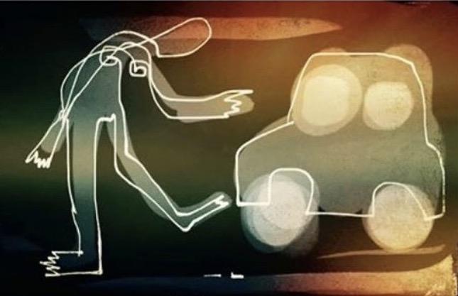 Kick the tires, Illustration Malin Skinnar