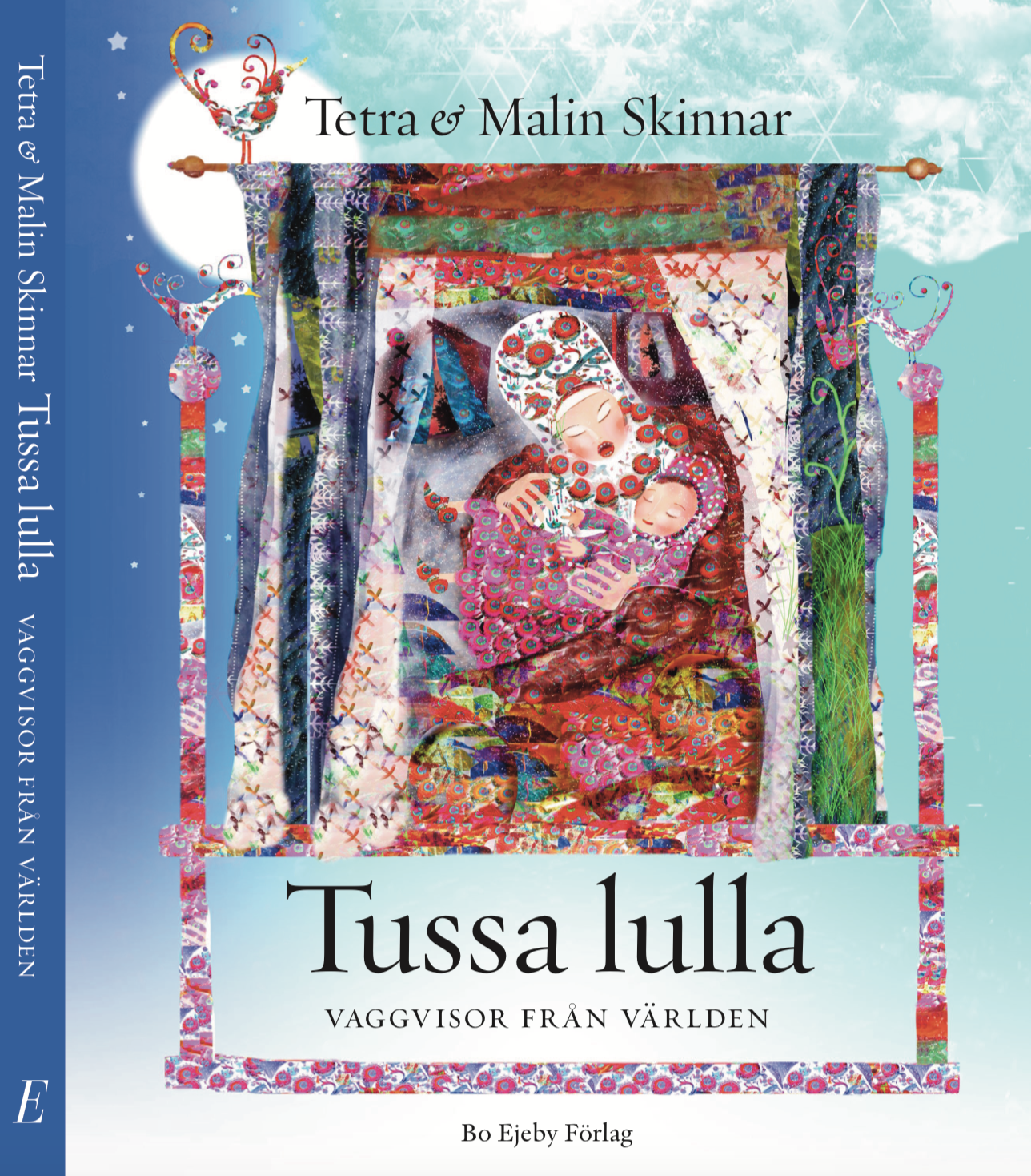 Tussa Lulla Lullabies from around the world, illustrator Malin Skinnar