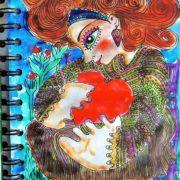 Our Mother - illustration Malin Skinnar